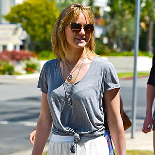 Jennifer Lawrence With Short Hair in LA