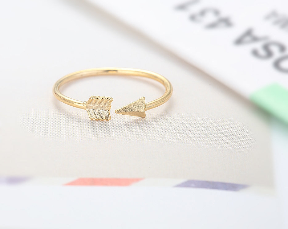 Adjustable Arrow Knuckle Ring