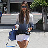 Alessandra Ambrosio Wearing White Shorts in LA | Pictures