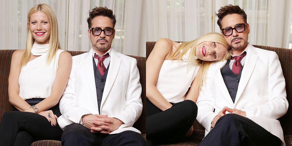 Gwyneth and RDJ Get Goofy Ahead of Iron Man 3's LA Premiere
