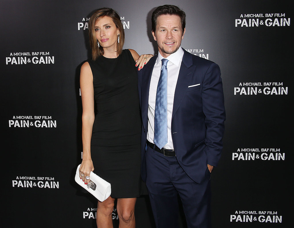Mark Premieres Pain & Gain With His Leading Ladies in LA