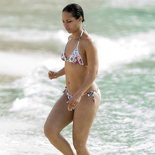Alicia Keys Bikini Pictures in the Bahamas