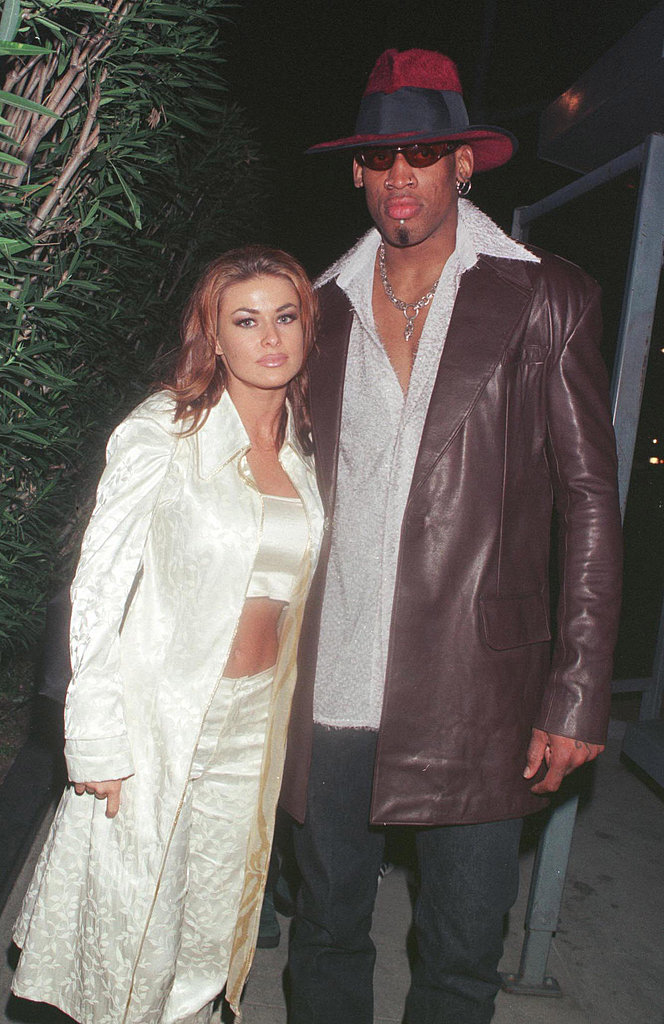 "Carmen Electra and Dennis Rodman were married in Las Vegas in November 1998 for only nine days before calling off the union. Carmen later compared her decision to marry Dennis is Vegas to ""getting a cheeseburger at a fast-food restaurant."""