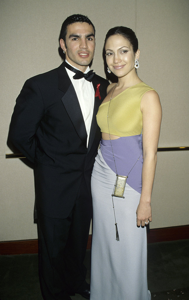 Jennifer Lopez married her first husband, Cuban actor Ojani Noa, in February 1997, but their marriage lasted less than a year.