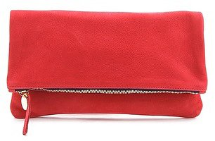 Clare vivier Fold Over Clutch