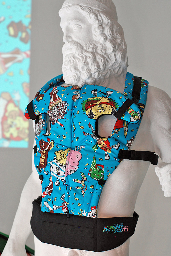 The Cybex by Jeremy Scott 2 Go Baby Carrier.