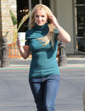 Britney Spears smiled in LA.