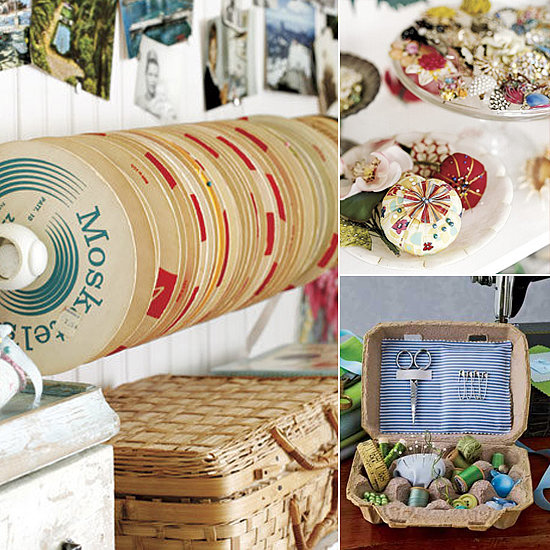 10 Ideas to Organize Your DIY Materials
