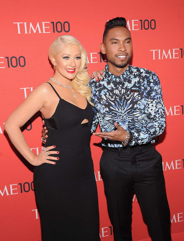 Christina Aguilera and Miguel