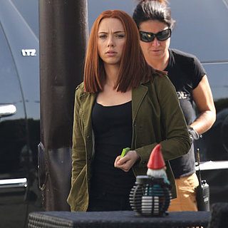 Scarlett Johansson With Red Hair in Captain America | Photos