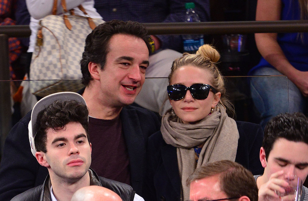 Mary-Kate Olsen and Olivier Sarkozy chatted and enjoyed each other's company.