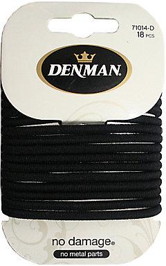 Denman Large No Damage Elastics x 18