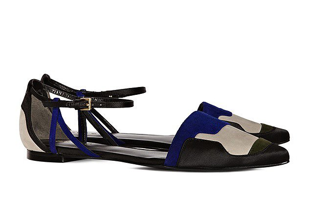 These Reiss Patchwork shoes ($185, originally $265) provide the comfort of flats but with major pizazz.