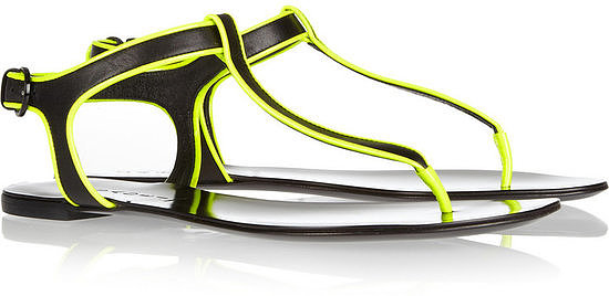 These Casadei neon-trimmed sandals ($196, originally $560) will instantly liven up your feet with a sporty kick.