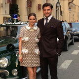 Olivia Palermo Wears Louis Vuitton at Munich Maison Opening