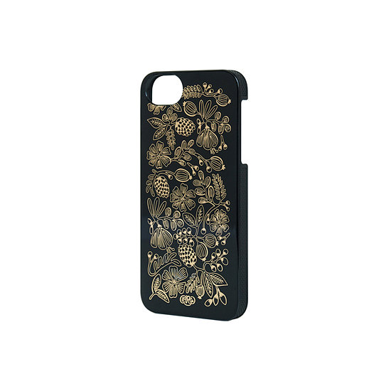 This Golden Bouquet Black iPhone 5 Case ($32) is all kinds of chic.