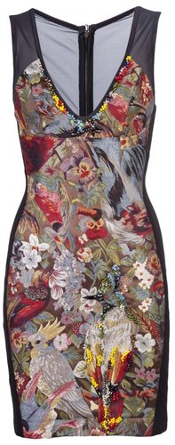 Cesar Arellanes Embroidered dress