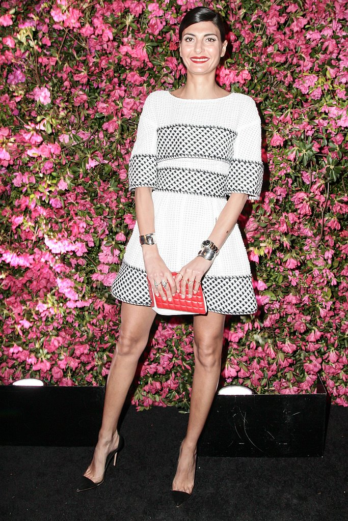 Giovanna Battaglia wore Spring 2013 Chanel. Source: Matteo Prandoni/BFAnyc.com