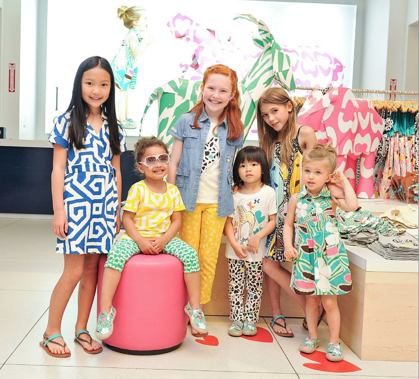 PSM: You have four grandchildren of your own — do you design the Gap line with them in mind? DVF: They're too old for this. The girls are 13 and 14. They come in and intern for me. We'll see — maybe they'll go into the family business. Source: Leandro Justen, BFAnyc.com