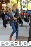Kate Hudson left her NYC hotel with Bingham Bellamy.