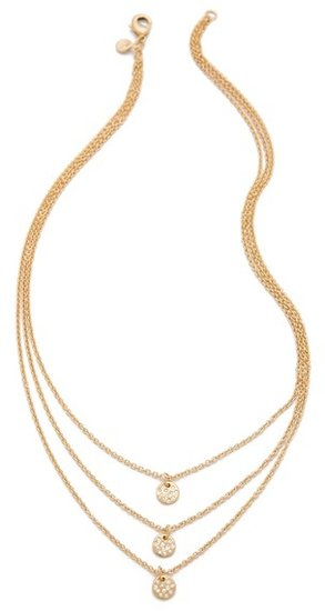Gorjana Three Disc Necklace