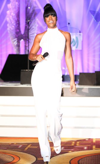 Kelly Rowland wore Izmaylova at the 24th annual GLAAD Media Awards in Los Angeles. Source: Aleks Kocev/BFAnyc.com