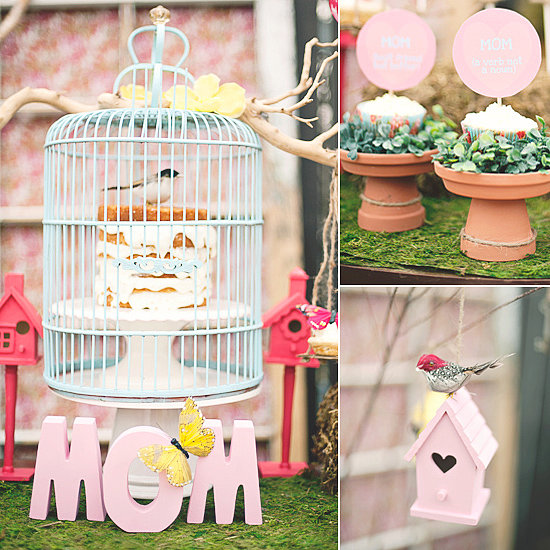 A Whimsical Mother's Day Party With Sweet Treats