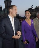 Kate Middleton and Prince William were glowing as they toured Canada in July 2011.
