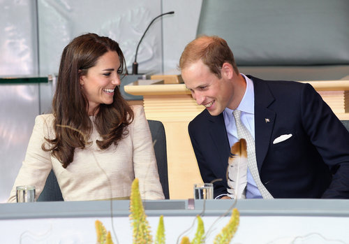 Kate and Prince William had plenty to laugh about during a July 2011 trip to Canada.