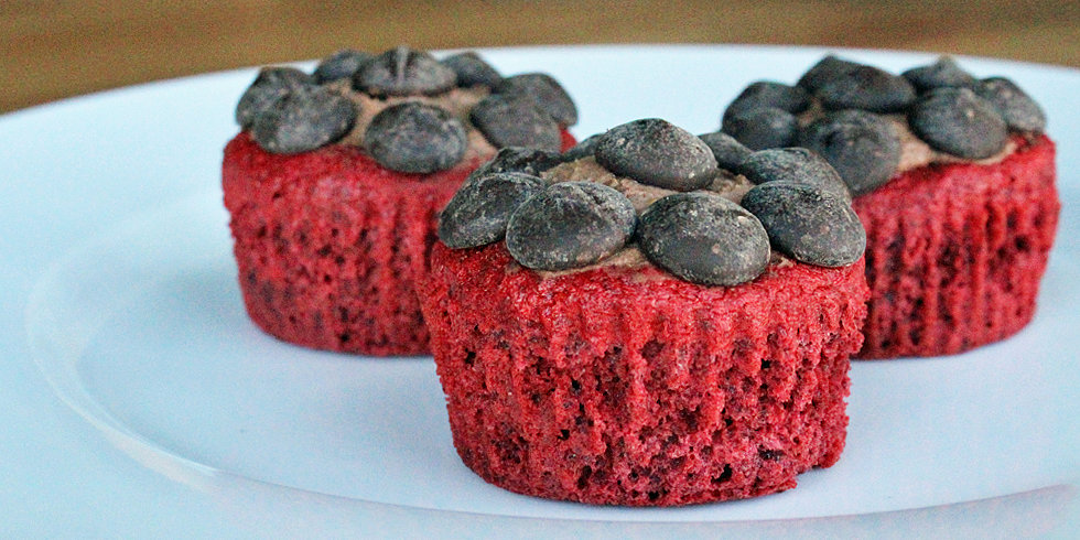 Low Fat and Low Cal: Red Velvet Stevia Cupcakes