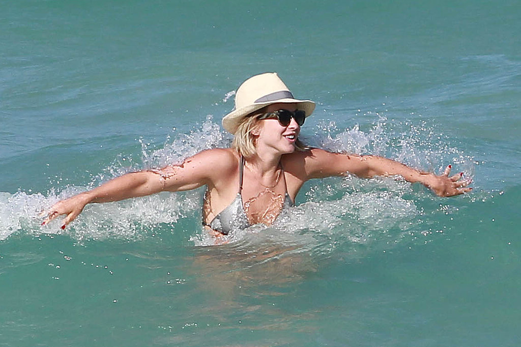 Julianne Hough went for a dip in Miami.