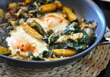 Vegetarian Hash With Leeks
