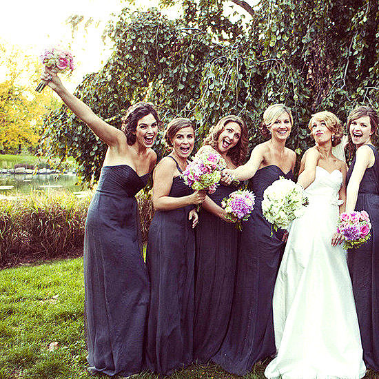 "No matter what the bride will always try to convince you that you can ""totally wear your bridesmaid dress again!"" While it may be a stretch for some dresses, most of the time it's a lot easier than you think — and POPSUGAR Fashion is showing you three chic ways to wear it well after the big day."