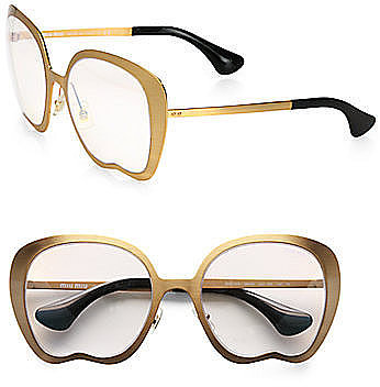 Miu Miu Retro Culte Metal Sunglasses