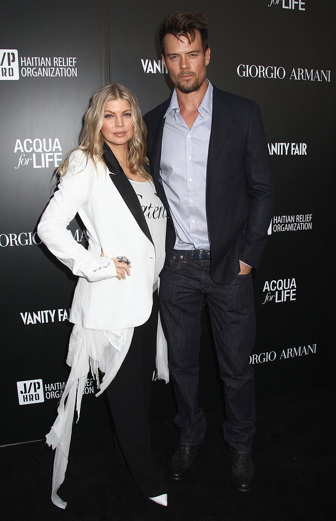 Fergie and Josh Team Up With Sean Penn at Star-Studded Art Opening