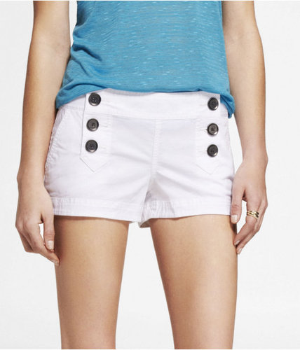 "2"" Stretch Cotton Sailor Shorts"
