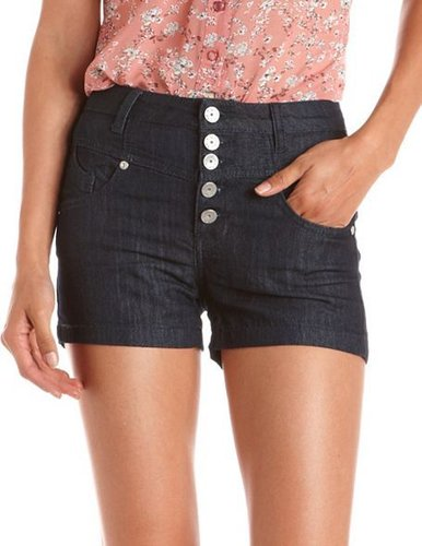 Almost Famous High Waisted Denim Short