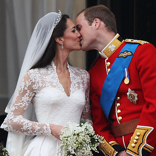 Prince William and Kate Middleton Kissing
