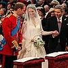 Prince William and Kate Middleton in Westminster Abbey Pictures