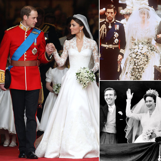 See How William and Kate's Big Day Compared to Past British Royal Weddings