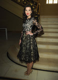 Daisy Lowe wore pre-Fall 2013 Michael Kors at Vogue and Alexandra Shulman's dinner honoring Michael Kors in London.