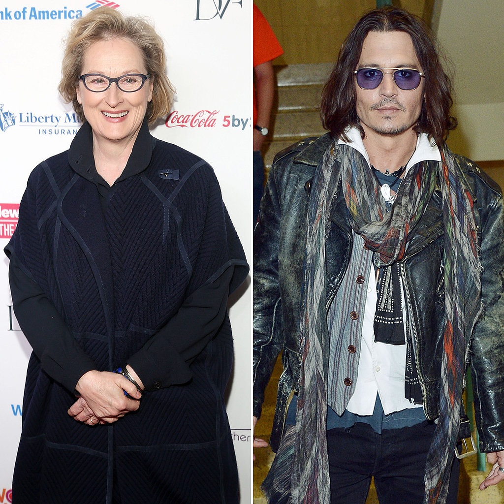 Johnny Depp and Meryl Streep are in talks for Into the Woods, a big-screen Disney adaptation of the popular musical that would reunite Depp with his Pirates of the Caribbean: On Stranger Tides director, Rob Marshall. Streep would play an evil witch.