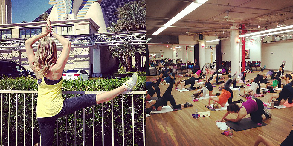 Fit Filters: Instagram Snaps From Celeb Trainers
