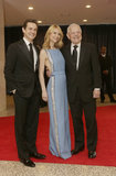Claire Danes and husband Hugh Dancy attended with CBS's Bob Schieffer.