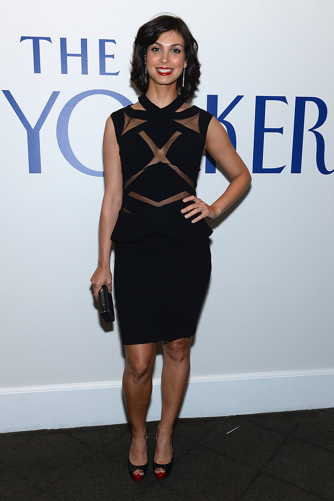 Morena Baccarin visited The New Yorker's party.