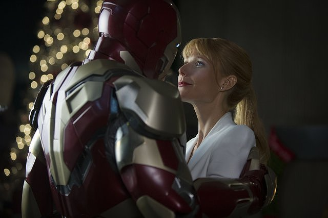 Gwyneth Paltrow in Iron Man 3.