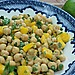 Chickpea Salad with Mango Chutney
