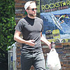 Robert Pattinson Gets Snacks at a Gas Station