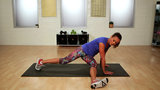 Bikini Abs RX: Three-Point Touch Plank Variation