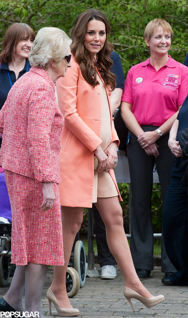 Kate Middleton visited the Naomi House.